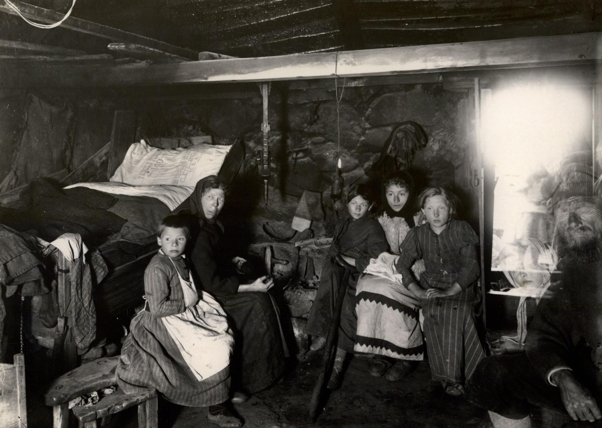 Cilles hus i Midvåg i Færøerne